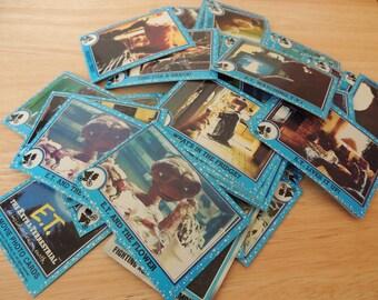 1982 HUGE lot of ET Trading Cards 90 plus cards