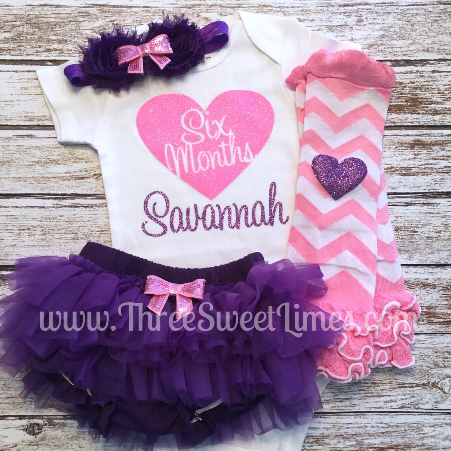 Six Month Baby Girl Outfit Halfway to e 6 Months Old Smash