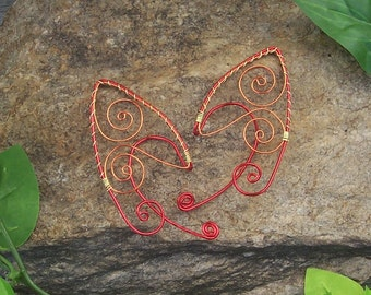 Elf Ear Cuffs - Phoenix - Elven Jewelry - Pixie Ears - Fairy Ears - Faery Ears