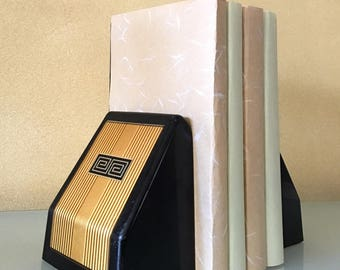 Rememberance Brown and Bigelow Retractable Mid Century Bookends