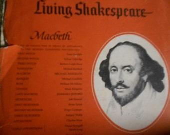 Living Shakespeare - Macbeth - vinyl record