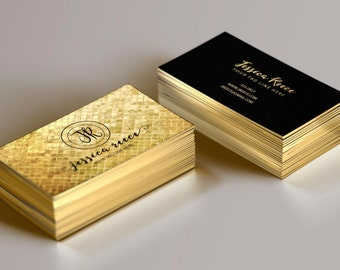 Gold Foil Business Card, Event Planner Business Card, Boutique Business Card, Wedding Planner Business Card, Photographer Business Card