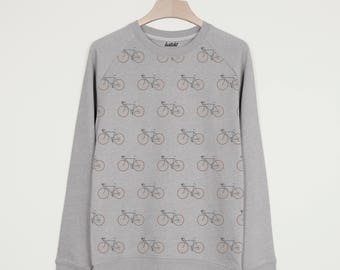 Bike All Over Print Men's Cycling Sweatshirt