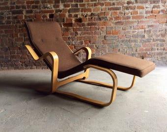 Fabulous Marcel Breuer Long Chair Chaise Longue Mid Century 1970's Bauhaus No. 2