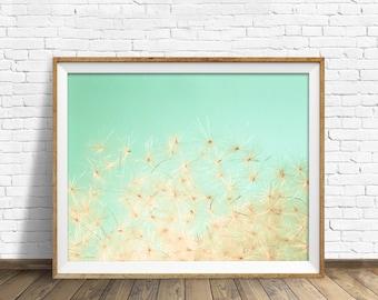 "botanical print, instant download, printable art, large art, large wall art, printable wall art, wall art, botanical wall art - ""Blow Away"""