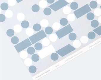 Stack Wrapping Paper - Grey