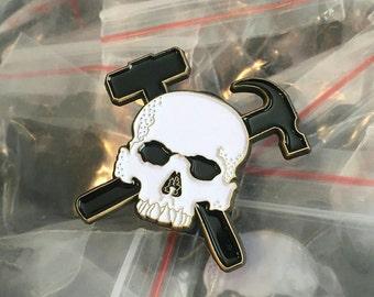 Purpose Skull Enamel Pin