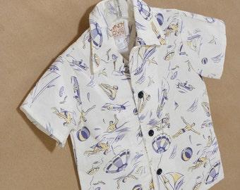 Boy's Beach Shirt