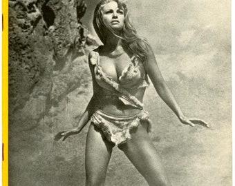 CanCans  Magazine  1966  French Publication   Raquel Welch Cover  plus  Stripper Lilly Christine  Kim Novak  Dean Martin & Girls more mature