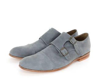 Monk Vagabundo Shoes in Gray