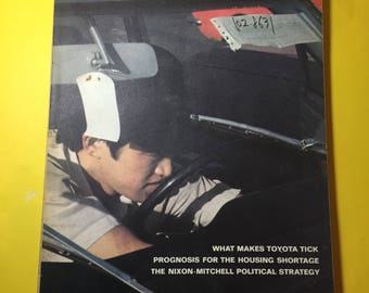 Fortune Magazine 1969 December What makes Toyota Tick!