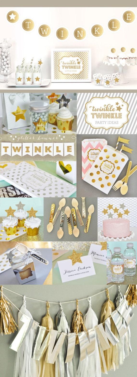 Twinkle Twinkle Little Star Favors Twinkle Twinkle Little Star