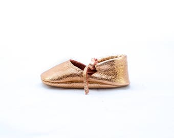 COPPER || mary jane moccasin