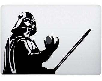 Darth Vader Sticker decal Computer, Laptop, Macbook Sticker, Laptop Decal Ipad Decal. Accessories Laptop, Computer, Macbook