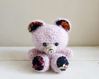Rolly the Teddy Bear, Cute Stuffed Animals, Crochet Teddy Bear