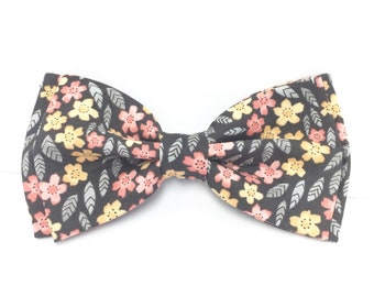 Gray Blush Bow Tie, Pink Gray Bow Tie, Pink Gold Bow Tie, Mens Bow Tie, Clip-on Bow Tie, Boys Bow Tie, Toddler Bow Tie, Silver Pink Bow Tie