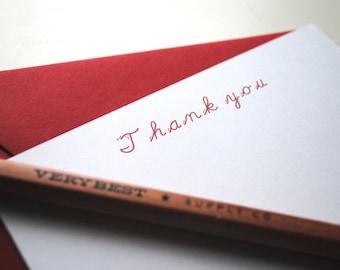 The Perfect Teacher's Gift: Set of 10, Personalized Teacher Notecard Set, Custom Teacher Stationery, Teacher's Gift