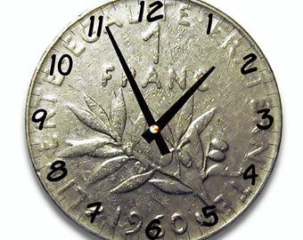 Wall clock design 1 FRANC
