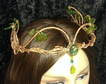 Woodland Crown- Elvin- Fairy
