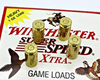 40 Caliber Brass Spent Bullet Valve Tire Stem Caps Cover