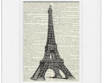 Eiffel Tower III print