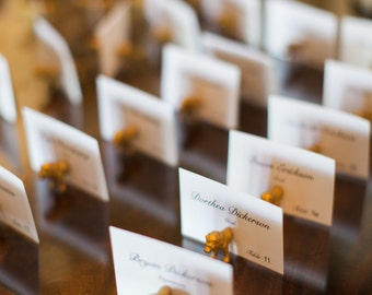 Wedding number holders and/or Wedding seating plan holders