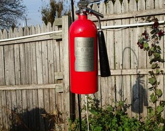 Fire Extinguisher Garden Wind Chime/Bell