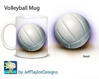 Volleyball Coffee Mug
