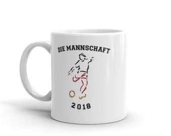 Germany Soccer National Team 2018 Soccer Fan World Championship German Flag Deutschland World Champions Coffee Mug or Tea Mug