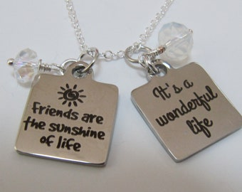 Inspirational Pendant Necklaces