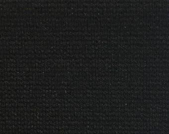 Black Ponti Rayon Nylon 60'' Wide 15 Yards Wholesale