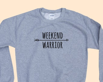 Weekend Warrior - Crewneck Sweater