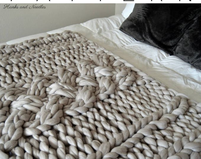 "Extreme Knitting Cable Pattern, ""Why Knot"" PDF Download"
