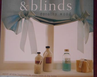 Making Curtains and Blinds by Dorothy Wood - Sewing Pattern Book- Quick and Easy