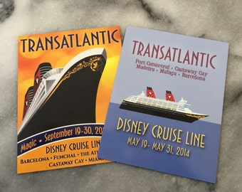 Disney Cruise Magnet - Makes a Great FE Gift