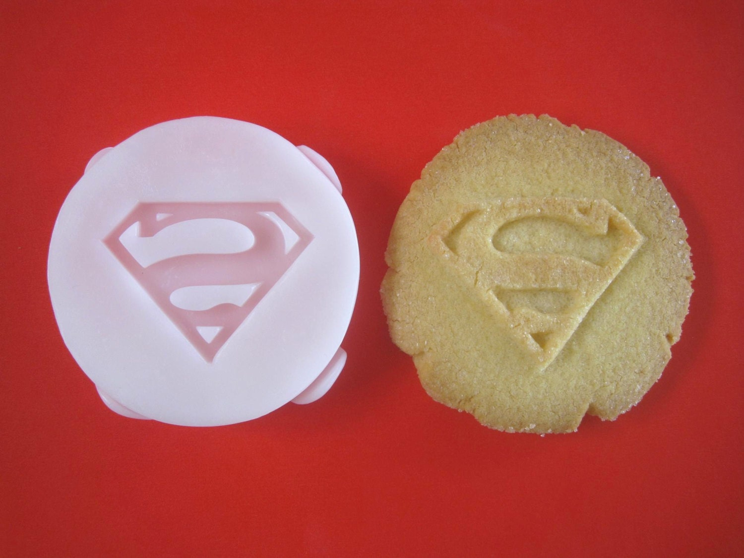 Superman inspired cookie stamp recipe and instructions make zoom forumfinder Gallery