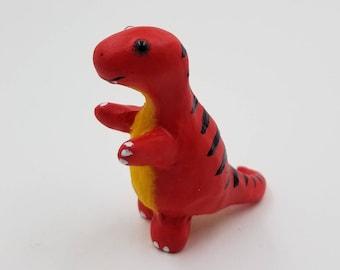 Red T Rex Figure