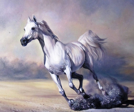 Horse Painting ...