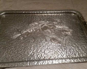 Collectible Silver Tray