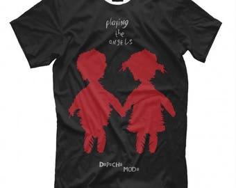 Depeche Mode Art T- shirts Men's Women's Size