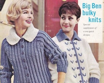 ON SALE Stitchcraft Magazine 1960s Knitting Pattern, Crochet Pattern, Embroidery Pattern Book