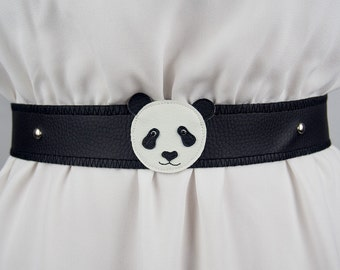 Panda Belt ~ Handmade ~ Only 1 Left!