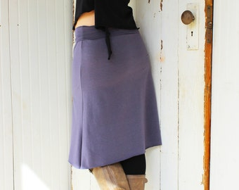 Organic Short Pencil Skirt - Eco Fashion - Custom Made to Order - Many Colors to Choose From
