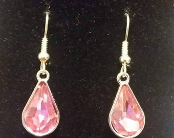 Pink Charm Earring