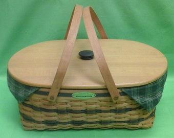 1999 Longaberger Traditions Generosity  Basket