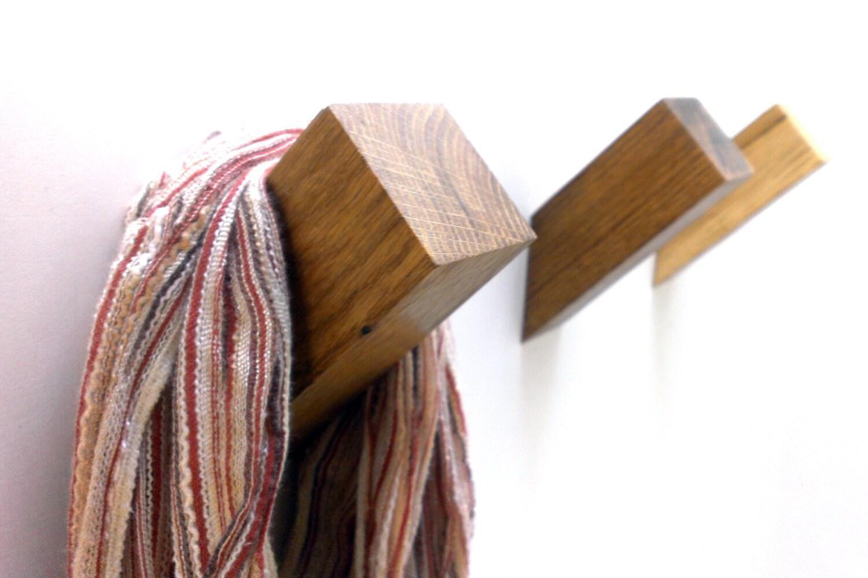 Oak Wall Hook Wooden Coat Hook Coat Rack Modern Wooden