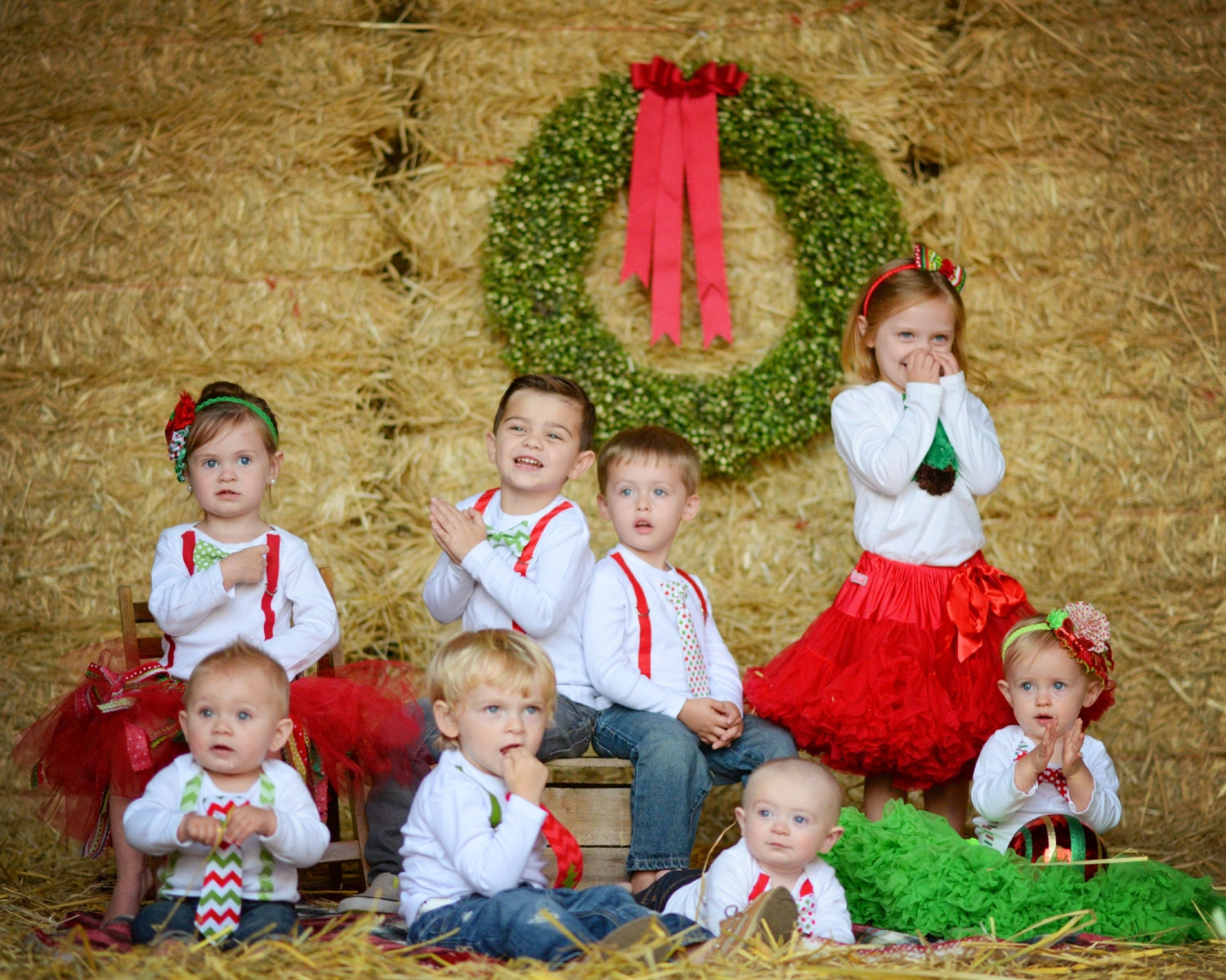 Sibling Christmas Outfits Holiday Clothes Newborn Boy