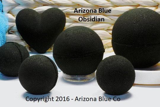 Sale Obsidian Black Bath Bomb Handmade Bath Bombs Custom