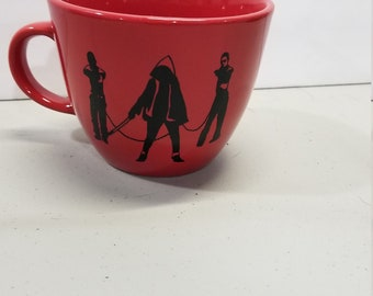 Walking Dead Michonne Coupe Mug 16 oz