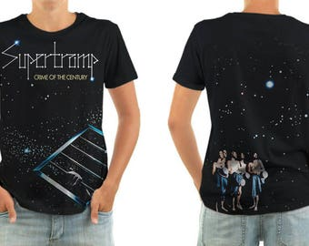 SUPERTRAMP crime of the century shirt all sizes